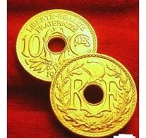 10 CENTIMES LINDAUER 1924 OR PL RARE EDITION LIMITEE DEPART   RARE EDITION LIMITEE PRIX DEPART 1 EURO - Oro