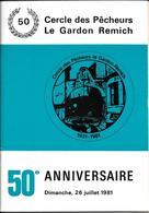 Remich 50 Ans Cercle Des Pécheurs - History