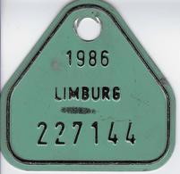 1986 - Placas De Matriculación