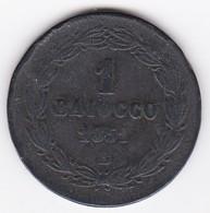 Vatican.  Baiocco 1851 Bologna  Année VI. Pie IX. - Vatican