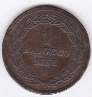 Vatican.  Baiocco 1851 Roma  Année V. Pie IX. - Vatican