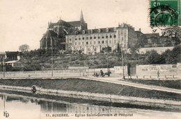 Auxerre -   église  St - Germain  Et  L'  Hôpital. - Auxerre