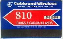 US$10 Autelca - Turks And Caicos Islands