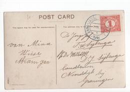 Anna Jacobapolder (ZL) Kortebalk - 1918 - Poststempel