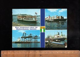 ROTTERDAM : 1977 SCYLLA Tours AG Rotterdamse Havens / Bateaux Port Navire Cargo Ship Maritime Vessel Ship Schiff - Rotterdam