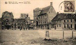 RUINES DE LOO - Grand'Place EERST WERELDOORLOG BELGIË BELGIQUE 1914/18 WWI WWICOLLECTION - Guerre 1914-18