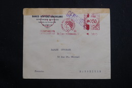 ESPAGNE - Enveloppe Commerciale De Madrid Pour La France En 1936 Avec Censure, Affranchissement Mécanique - L 61077 - Republikanische Zensur