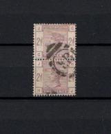 PAIRE DE TIMBRES N° 78 GRANDE-BRETAGNE OBLITERES   DE 1883          Cote: 150 € - 1840-1901 (Victoria)