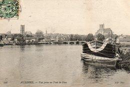 Auxerre -   Vue  Prise  Au  Pont  De  Gien. - Auxerre