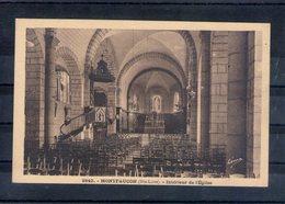 43. Montfaucon. Intérieur De L'église - Montfaucon En Velay