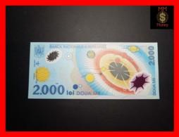 ROMANIA 2000 2.000 Lei  1999  P. 111 A   POLYMER UNC - Romania
