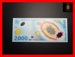 ROMANIA 2000 2.000 Lei  1999  P. 111 B   POLYMER Prefix  001A  Without Folder  UNC - Romania