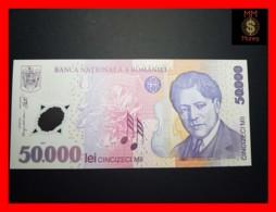 ROMANIA 50.000 50000 Lei  2002  P. 113  POLYMER  UNC - Romania