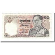 Billet, Thaïlande, 10 Baht, Undated (1980), KM:87, NEUF - Tailandia