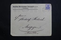 ALLEMAGNE - Enveloppe Commerciale De Hamburg Pour Le Maroc En 1912, Oblitération Mécanique - L 61081 - Allemagne