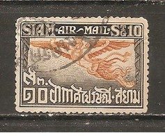 Tailandia (Siam) Nº Yvert  Aéreo 4 (usado) (o) - Siam