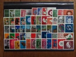 GERMANIA OVEST - Lotto 60 Francobolli Nuovi ** Anni '50/'60 × 0,05 Cad. + Spese Postali - [7] West-Duitsland
