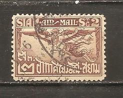 Tailandia (Siam) Nº Yvert  Aéreo 9 (usado) (o) - Siam