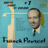 FRANCK POURCEL - 25 Cm - 33T - Disque Vinyle - Amour Danse Et Violons - 1082 - Musicals