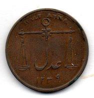 BRITISH INDIA - BOMBAY PRESIDENCY, 1/2 Anna, Copper, Year AH 1249 (1834), KM #253 - Inde