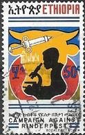 ETHIOPIA 1974 Campaign Against Rinderpest - 50c - Laboratory Technician FU - Äthiopien