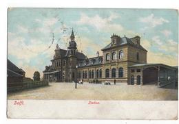 Delft - Station - 1906 - Ammerstol Grootrond Z - Delft