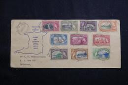 TRINITÉ & TOBAGO - Enveloppe FDC En 1953 Pour Trinitad  - L 61100 - Trinidad & Tobago (...-1961)