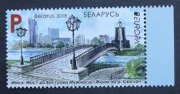 Weißrussland      Europa  Cept   Brücken   2018    ** - 2018