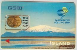 Iceland Simcard - Islandia