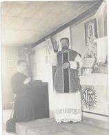 53 Cpa PHOTO Prêtre En Office - BLANDOUET Par EVRON - Voir Verso - Autres Communes