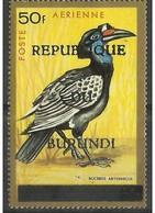 Burundi -  1967 Abyssinian Ground Hornbill (Republic Overprint) 50f  MH *  SG 238  Sc C35G - 1962-69: Neufs