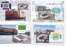 4 POSTCARD OF UK  FOOTBALL LEAGUE STADIUMS  LOT TWO - Stadiums