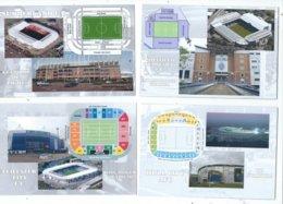 4 POSTCARD OF UK  FOOTBALL LEAGUE STADIUMS  LOT THREE - Stadiums