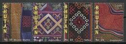 Bhutan 2009 Mi 2552-2555I MNH ( ZS8 BHT2552-2555Idav147A ) - Métiers