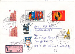 Germany Insured Letter Hamburg 17-6-1998 - [7] Repubblica Federale