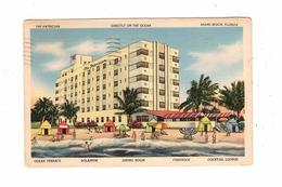MIAMI BEACH, Florida, USA, The Patrician Hotel, ART DECO, 1949 Linen Postcard - Miami Beach