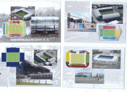 4 POSTCARD OF UK  FOOTBALL LEAGUE STADIUMS  LOT  SIX - Stadiums