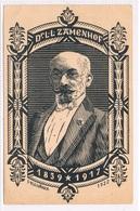 ESP-3   Drs. L.L. ZAMENHOF , La Kreinto De Esperanto - Esperanto