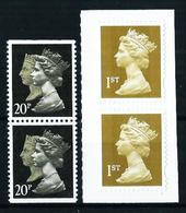 Gran Bretaña Nº 1435d/e-2341a[2] Nuevo - 1952-.... (Elizabeth II)