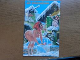 Naakt, Nude, Naked / Humor / Ein Wintermarchen -> Unwritten (card Is Damaged !!) - Humour