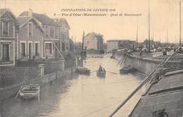 78-MAURECOURT- QUAI DE MAURECOURT - Maurecourt