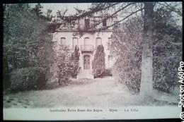 DIJON - INSTITUTION NOTRE DAME DES ANGES - LA VILLA - VIAGGIATA 1953 - Dijon