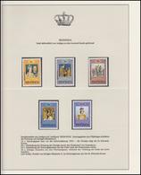Redonda Jubiläum Elizabeth II. Krönungszeremonie, 5 Marken Mit Aufdruck ** - Case Reali