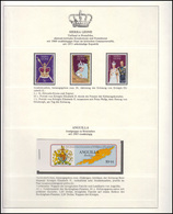 Jubiläum Elizabeth II. 1978: Sierra Leone 3 Marken & Angiulla Markenheftchen ** - Case Reali