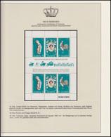 Neue Hebriden Jubiläum Elizabeth II. Portrait & Pferd & Hahn, Block Englisch ** - Case Reali