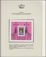 Barbuda Jubiläum Elizabeth II. Krönung & Prinz Philipp, Block Mit Aufdruck ** - Case Reali