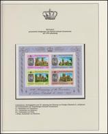 Tuvalu Jubiläum Elizabeth II. Britische Kathedralen, Block ** - Royalties, Royals