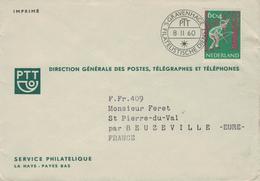 SGravenhage Kind Indianer Pfeil Bogen - PTT Dienst - Covers & Documents