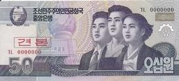 COREE DU NORD 50 WON 2002 UNC P 60 S - Korea, Noord
