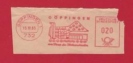 BRD AFS - GÖPPINGEN, Göppingen Am Fusse Des Hohenstaufen 1965 - Machine Stamps (ATM)